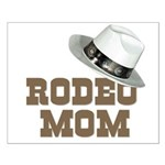 Rodeo Mom Small Poster