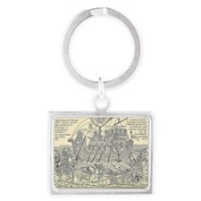 Ark of Salvation Landscape Keychain