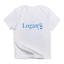 Blue Logan Name Infant T-Shirt