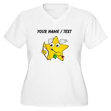 Custom Cupid Star Cartoon Plus Size T-Shirt