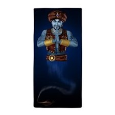Magic Lamp Genie Beach Towel