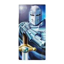 Blue Knight Beach Towel