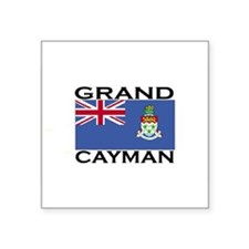 Grand Cayman Flag Rectangle Sticker