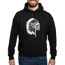 Native American Skull Hoodie