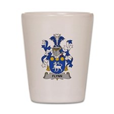 Flynn Family Crest Shot Glass