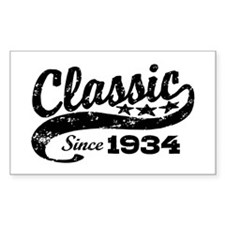 Classic Since 1934 Decal