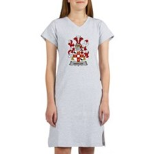 Hartley Family Crest Women's Nightshirt