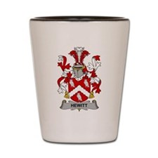 Hewitt Family Crest Shot Glass