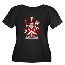 Hewitt Family Crest Plus Size T-Shirt