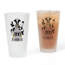 Higgin Family Crest Drinking Glass