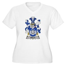 Kelly Family Crest Plus Size T-Shirt