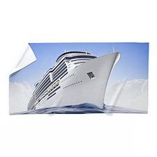 Cruise Ship Beach Towel
