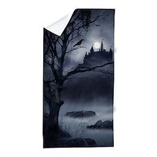 Gothic Night Fantasy Beach Towel