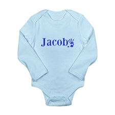 Blue Jacob Name Body Suit