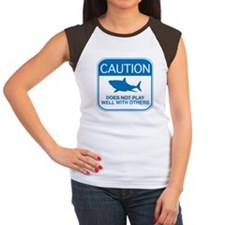 Caution - Does Not Play Well With Others Tee