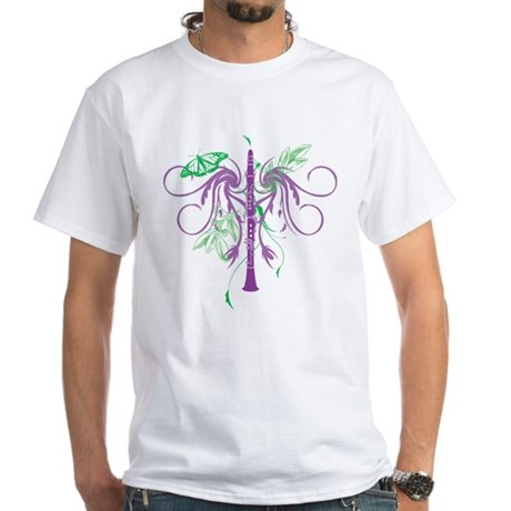 Fantasy Clarinet White T-Shirt