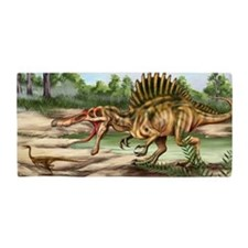 Dinosaur Species Beach Towel