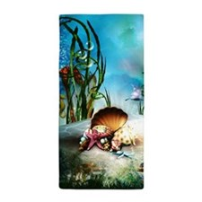 Underwater Sea Life Beach Towel