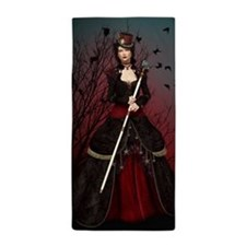 Dark Lady Beach Towel