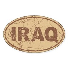 Iraq Auto Decal