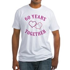 60th Anniversary Two Hearts Shirt