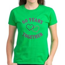 60th Anniversary Two Hearts Tee