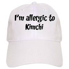Allergic to Kimchi Baseball Cap