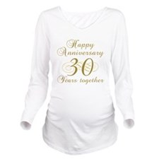 30th Anniversary (Gold Script) Long Sleeve Materni