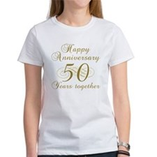 50th Anniversary (Gold Script) Tee