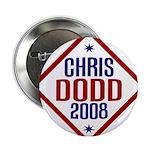 Chris Dodd 2008 Pinback Button