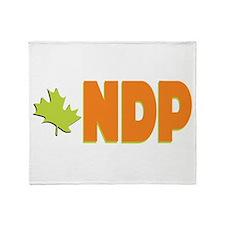 NDP Throw Blanket