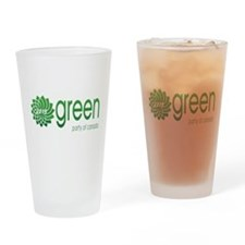 Green Party 2015 Drinking Glass