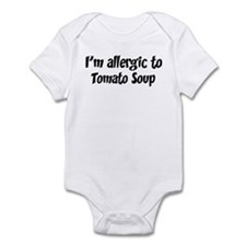 Allergic to Tomato Soup Infant Bodysuit