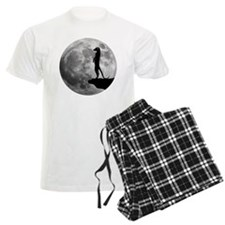 meerkat erdmännchen mond moon Pajamas
