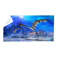 Fantasy Dragons Beach Towel