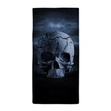 Gothic Skull Beach Towel