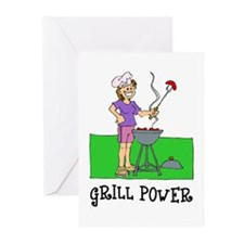 Grill Power Greeting Cards (Pk of 10)