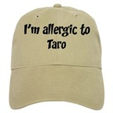 Allergic to Taro Baseball Cap