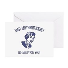 Bad MF'er! Greeting Cards (Pk of 10)