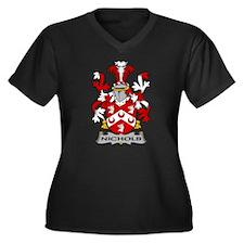 Nichols Family Crest Plus Size T-Shirt