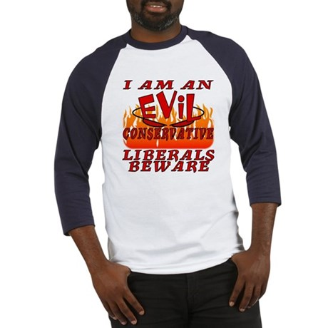 I Love God's Creatures (EVIL CON) Baseball Jersey