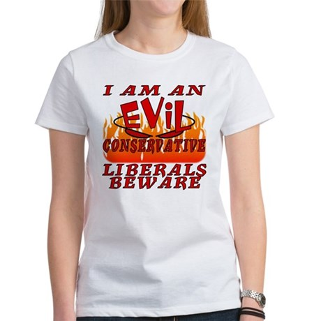 I Love God's Creatures (EVIL CON) Women's T-Shirt