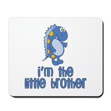 i'm the little brother dinosaur Mousepad