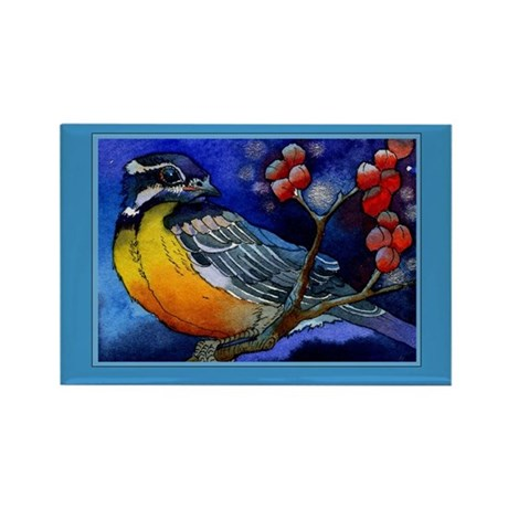 Tanager Rectangle Magnet