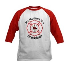 My Mommy Is A Firefighter Baseball Jersey