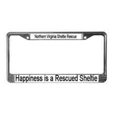License Plate Frame - Happiness