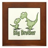 Dinosaurs Big Brother Framed Tile