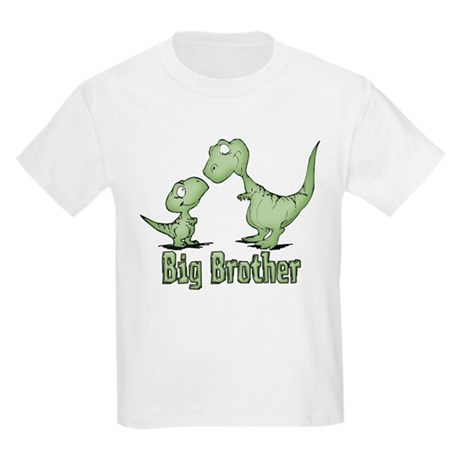 Dinosaurs Big Brother Kids Light T-Shirt