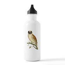 Black Masked Owl Water Bottle