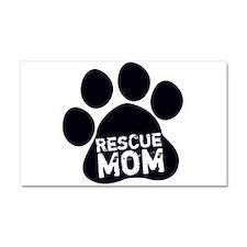 Rescue Mom Car Magnet 20 x 12
